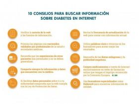 Decálogo de consejos de DiabeWeb para buscar información sobre diabetes en internet
