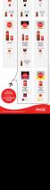 Infografía con información para reconocer las bebidas light y zero de Coca-Cola en España