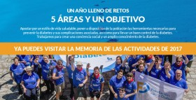 Memoria 2017 de la Fundación para la Diabetes