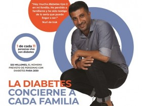 Infografía #2 para el Día Mundial de la Diabetes 2018 – 1 de cada 11 personas vive con diabetes