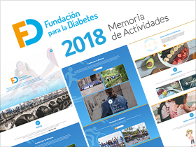 Memoria de Actividades 2018 de la Fundación para la Diabetes