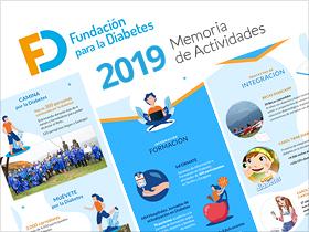 Memoria de Actividades 2019 de la Fundación para la Diabetes