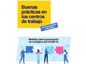 Medidas para la prevención de contagios del COVID-19 en los centros de trabajo