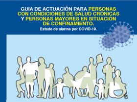 Guía de actuación para pacientes con enfermedades crónicas y mayores en situación de confinamiento por COVID-19