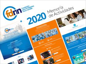 Memoria de Actividades 2020 de la Fundación para la Diabetes Novo Nordisk