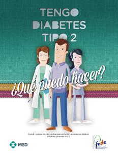 engo Diabetes Tipo 2, ¿qué puedo hacer?