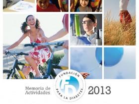 Memoria 2013 de la Fundación para la Diabetes