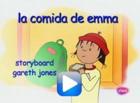 Caillou conoce la diabetes (video)