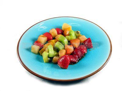 Frutas en papillote