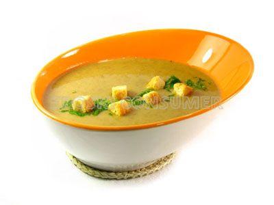 Sopa de lentejas y patata