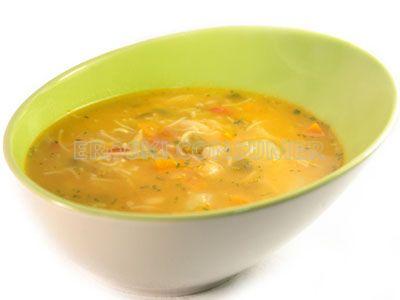 Sopa a la milanesa