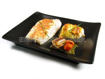 Filetes de merluza al horno con mayonesa gratinada