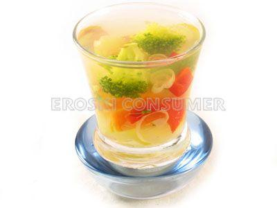 Gelatina de verduras