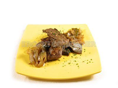 Hígado con hierbas aromáticas