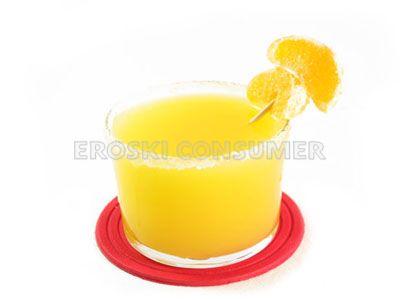 Licuado de mandarina y manzana
