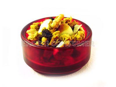 Muesli tres cereales con manzana y nuez