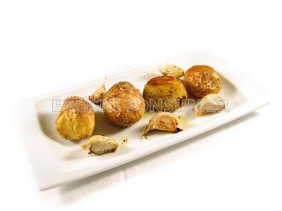 Patatas asadas con tomillo