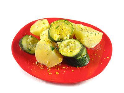 Ensalada de patatas y calabacín