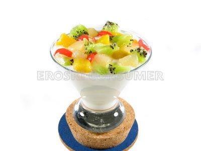 Macedonia de frutas con yogur