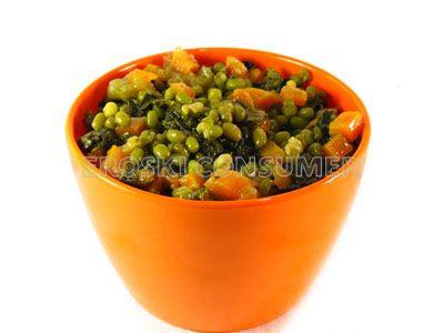 Potaje de soja con espinacas y patata