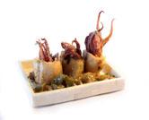 Calamares a la sidra