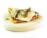 Crema de queso de Cabrales con anchoas
