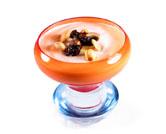 Batido de yogur con fruta fresca y frutos secos