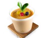 Batido de mango y albaricoque con yogur